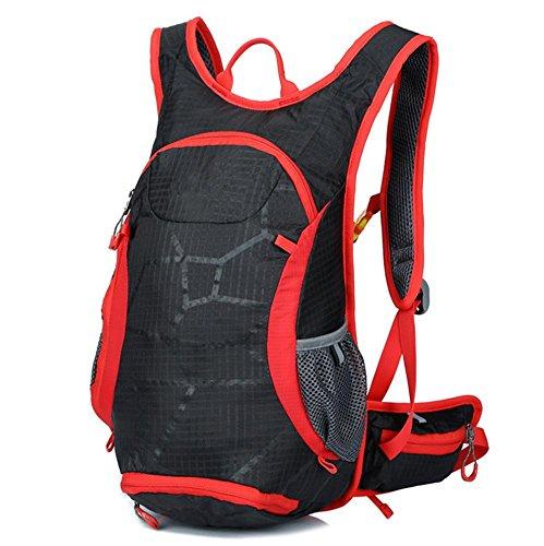 Xiuxiandianju Autunno/inverno equitazione all'aperto di viaggio pacchetto sport zaino escursionismo sacco , orange Black