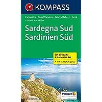 Sardinien Süd 2499 GPS wp 4-Set kompass