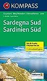 Sardegna Sud - Sardinien Süd: Wanderkarten-Set mit Radrouten. GPS-genau. 1:50000 (KOMPASS-Wanderkarten, Band 2499)