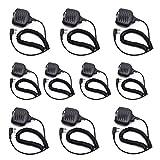 10PCS EASYTALK Lautsprecher Funkgeräte Handheld Mikrophon für QUANSHENG PUXING WOUXUN TYT BAOFENG UV5R KENWOOD Funkgeät