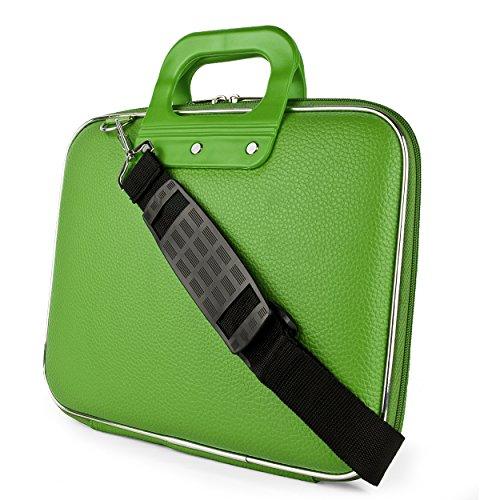SumacLife Schutzhülle Cady Collection, der Fall für Dell 15,6Laptops und Ultrabooks (Grün)