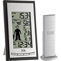 TFA-Dostmann 35.1084 Weather Boy Wireless Weather Station - Silver