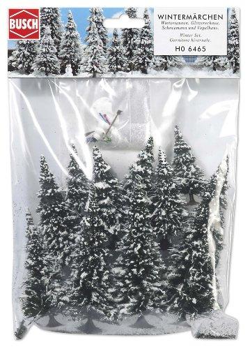 Busch 6465 - Wintermärchen HO Modell Weihnachtsbaum