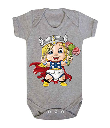 Baby Thor Baby Weste Strampler Brecrest Babywear One-teiliges Hero Comics Superheld Neuheit Brecrest Babywear