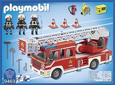 Playmobil 9463 Spielzeug-Feuerwehr-Leiterfahrzeug