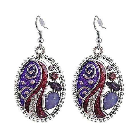 Alliage Bijoux tendance rétro Store en ligne New Statement Pendants d'oreille Charms Factory Wholesale