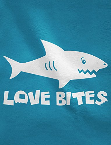 Requin Love bites - Humour cool swag Sweatshirt Femme Noir