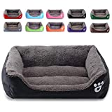 BCOO Dog bed Cat bed Pet bed Super soft pet sofa bed, soft wool fleece PP cotton made into a pet bed, suitable for small medium dogs or cats