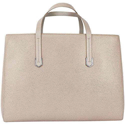 Hugo - Norah 10184030 01, Borsa shopper Donna beige chiaro