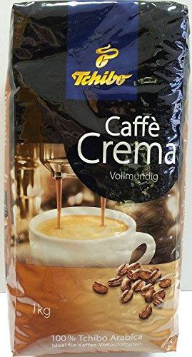 Tchibo Caffè Crema Vollmundig - Kaffeebohnen ( 1kg )