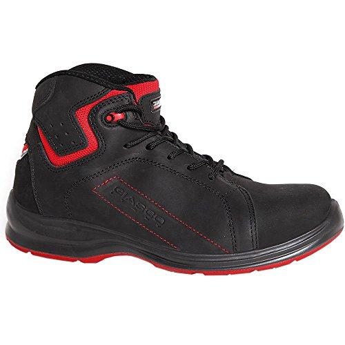 Giasco 93N37C36 Basket Bottes à lacets S3 Taille 36 Noir/Rouge