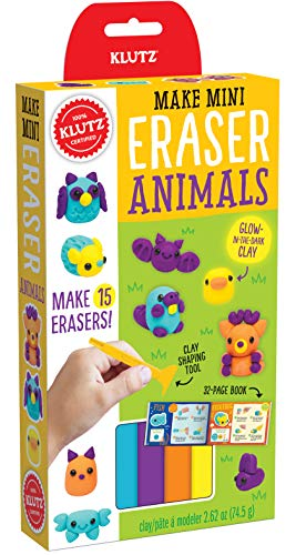Make Mini Eraser Animals (The Dark Stuff Glow In)