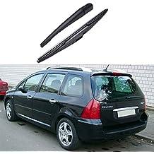 Brazo lámina para el 307 2001-2008 posterior del coche del parabrisas limpiaparabrisas piezas auto