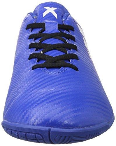 adidas Herren X 16.4 in Futsalschuhe Blau (Blue/Ftw White/Shopin)