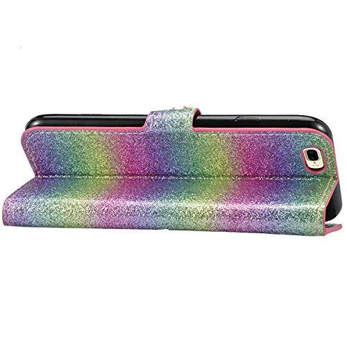 Vandot Case Per iPhone 7 Plus / 8 Plus Custodia in PU Copertura di Ccuoio Cover, Sintetica Ecopelle Pelle Guscio Per iPhone 7 Plus / 8 Plus Disegno Gatti e Albero Protezione Caso Ultra Sottile shell p Glitter 1