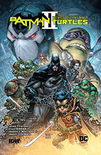 Batman/Teenage Mutant Ninja Turtles II (2017-2018) (English ...