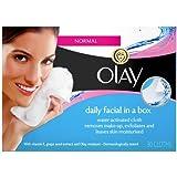 Olay - Essentials, repuesto de limpiador facial diario para pieles normales a secas