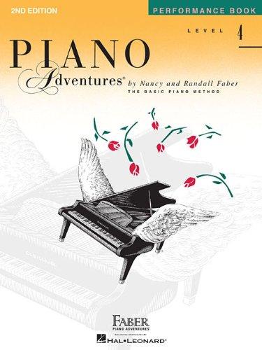 Piano Adventures Performance Book: Level 4 -2nd Edition-: Noten, Lehrbuch für Klavier