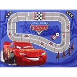 Cars racetrack tapis associate weavers tapis de jeu de 95 x 133 cm-c22