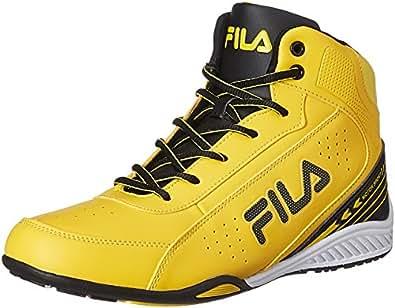 Fila Men's Ivanzo Yellow, Black and White Sneakers - 11 UK/India (45 EU)