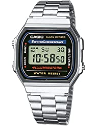 Authentic Casio watch (A168WA-1YES)