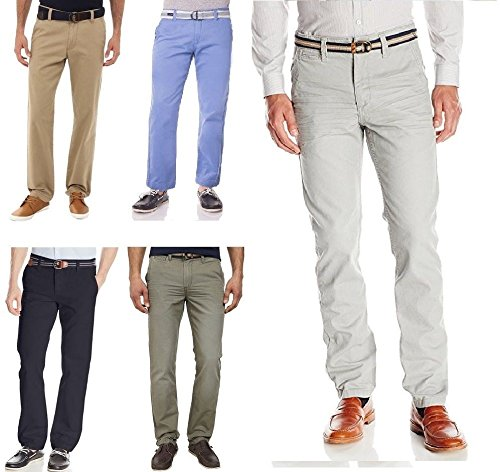 U.S.POLO ASSN. New Mens Us Polo ASSN Chino Summer Slim Fit Straight Leg Trouser Chino Pants