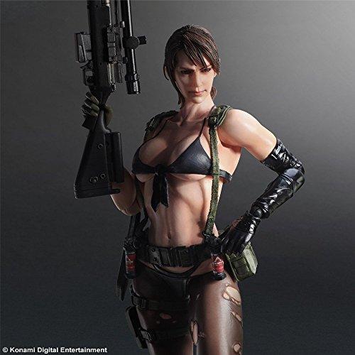 Phantomschmerz Metal Gear Solid V Varianten Play Arts Kai malte 1/6 Silent Doll PVC Action Figure Sammeln Modell Spielzeug