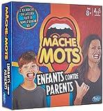 Mâche-Mots - Jeu de societe Mâche-Mots Enfants Contre Parents - Jeu drole de rapidité - Version française