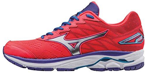 Mizuno Wave Rider 20 (w), Zapatillas de Running para Mujer, Rosa (Diva