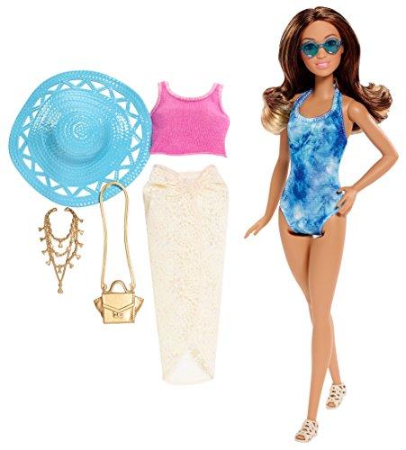 Barbie Glam Urlaub Puppe, Tie Dye One Piece