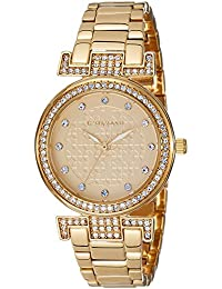 Giordano Analog Gold Dial Women's Watch - A2057-33