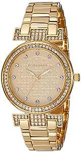 Giordano Analog Gold Dial Women's Watch - A2057-33