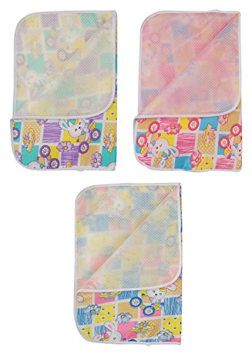 Dream Baby Diaper Changing Mat Combo (Pack of 3, Dream Baby Combo_143)