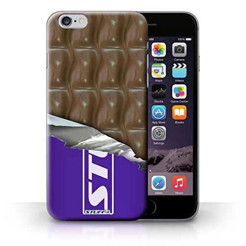 Kobalt Onda galaxy avvolto stampato Custodia Cover per iPhone 6+/Plus 5.5 cellulari telefoni / Collezione Cioccolato Onda galaxy avvolto