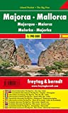 Mallorca, mapa de carreteras de bolsillo plastificado, Island Pocket. Escala 1:190.000. Freytag & Berndt. (Auto karte)