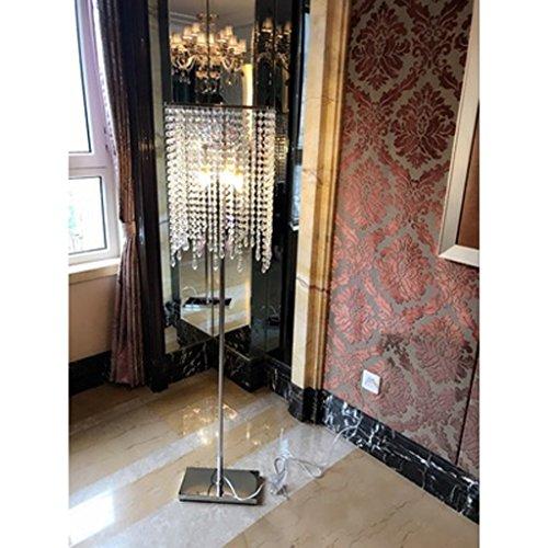 Stehlampe MEILING Europäischen Stil luxuriöse Kristall Schlafzimmer Einfache Moderne Wohnzimmer Landung Tischlampe Vertikale Licht Kreatives amerikanisches Licht -