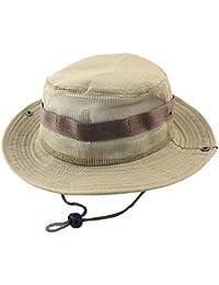 Hulday Sombrero para El De Gorra Sol Unisex Visera De Protección Estilo  Simple De ala Ancha 0a3418d40b6f