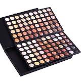 Bulary 120 Farben Professionellen Lidschatten Palette Neutral Warm Nude Augen Schatten Augen Make Up Farbpalette Eye Shadow Makeup Box