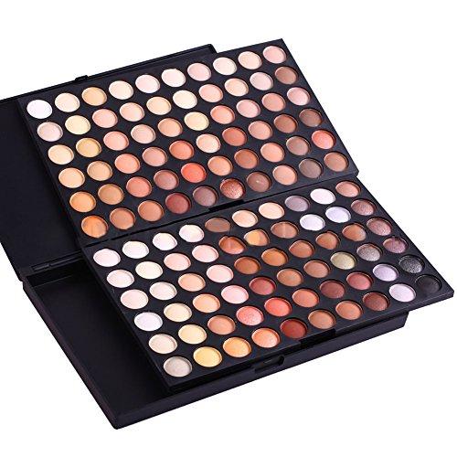 120 couleurs ombre à paupières couleurs de la Terre maquillage professionnel eyeshadow set palette