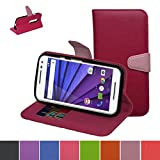 MOTO G (3rd Generation) Hülle ,Mama Mouth Brieftasche