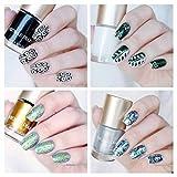 NICOLE DIARY 13Pcs Nail Art Stamping Polish Lacca per unghie Lacca per smalto per la stampa di unghie (13 colori)