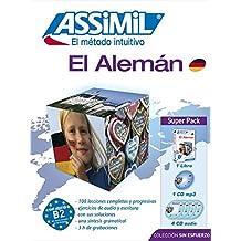 Alemán Superpack (Libro+mp3+4 CD) (Senza sforzo)