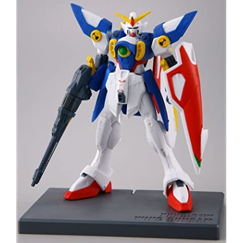 Bandai Hobby Speed Grade Collection Wing Gundam (Box/4), Bandai Collection Action Figure by Bandai Hobby