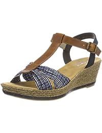Rieker Damen 60494 Geschlossene Sandalen
