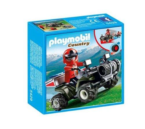 Playmobil Country Mountain Rescue Quad - Kits Figuras