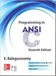 Balaguruswamy C Book