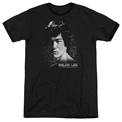 Bruce Lee Herren T-Shirt Schwarz