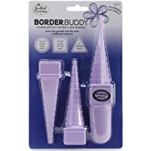 Quilled Creations Border Buddy - Herramientas para los bordes y formas, color morado