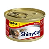 Gimpet ShinyCat Hühnchen 24x 70g Katzenfutter nass für Feinschmecker
