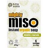 King Soba | Og Miso Soup Pumpkin & Veg | 2 x 10 x 60g